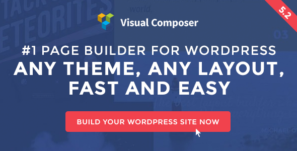 Visual Composer v5.2.1 – Page Builder for WordPress