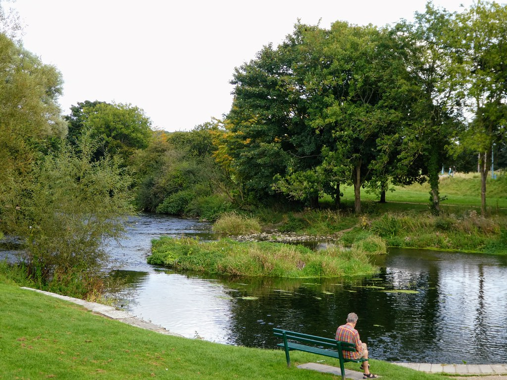 The River Stour at Blandford Forum