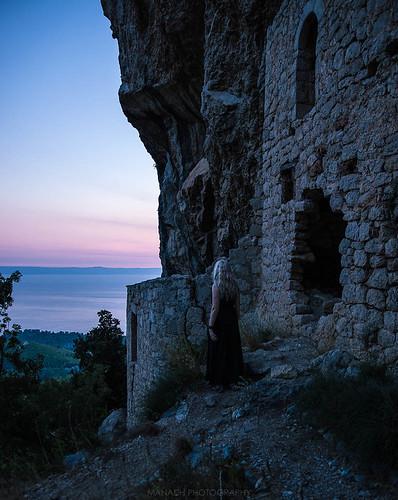 Sunset up the Mountains, Croatia