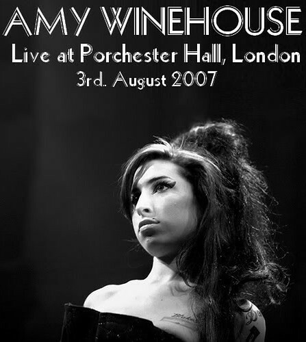 Amy Winehouse - Porchester Hall - 2007