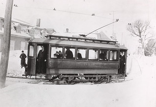 Levis Tramways car No. 61, Québec / Voiture no 61 de la compagnie Levis Tramways (Québec)
