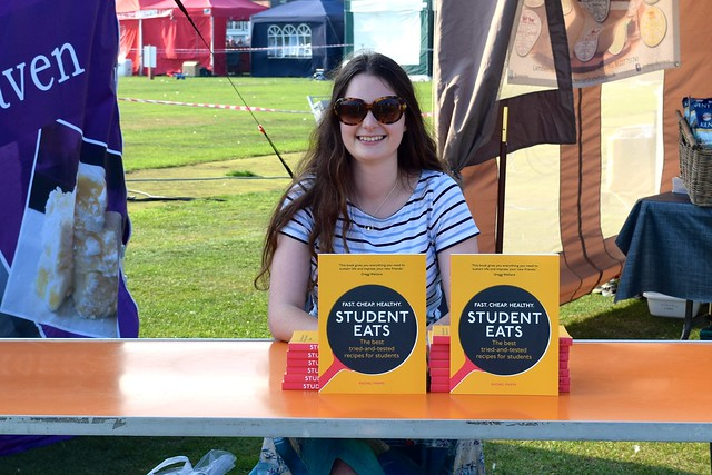 Book Signing at We Love Hythe Food Festival | www.rachelphipps.com @rachelphipps