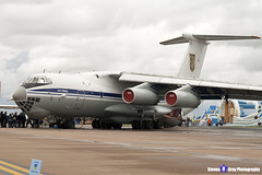 78820 - 0093496907 - Ukrainian Air Force - Ilyushin IL-76MD - Fairford RIAT 2011 - Steven Gray - IMG_5976