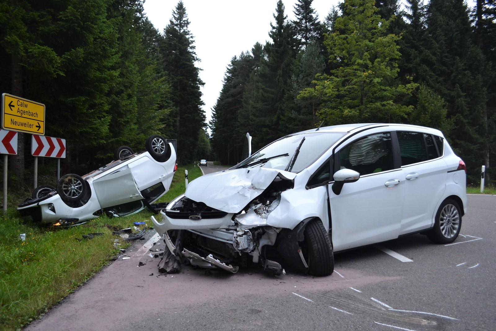 Agenbach: VU mit 7 verletzten - 04.09.2017