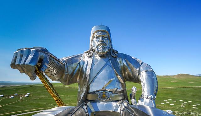Mongolia Chiggis Khan Monument-14