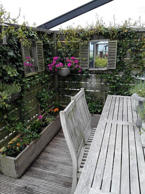 Balkon houten tuinset