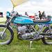 Lydden Hill August 2016 Paddock Suzuki T500 1975 001C