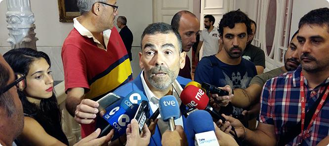 """López: """"Sin el Puerto de Cartagena el corredor no es Mediterráneo ni corredor"""""""