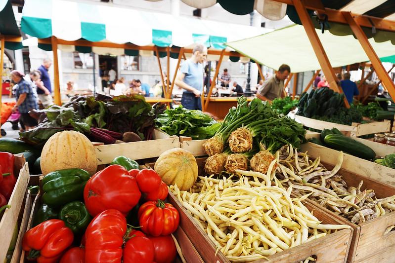 Ljubljana fresh market