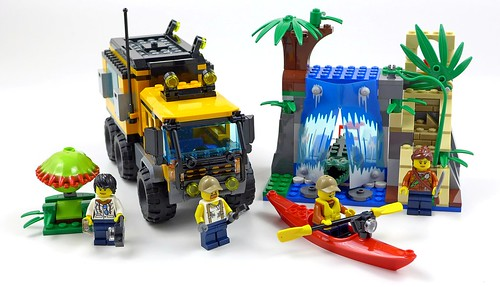 LEGO City Jungle 60160 Jungle Mobile Lab 52