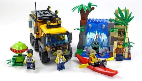LEGO City Jungle 60160 Jungle Mobile Lab 52