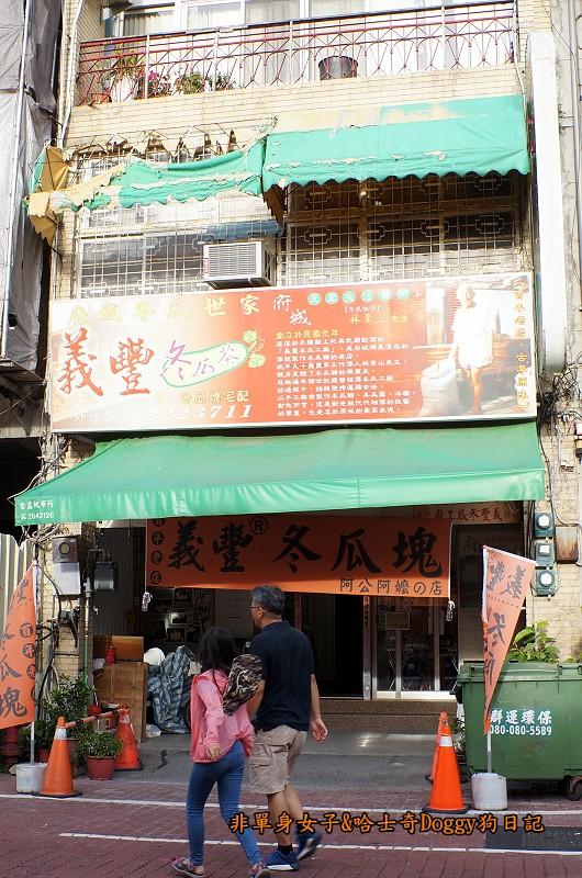 台南景點赤崁樓與美食18義豐冬瓜茶