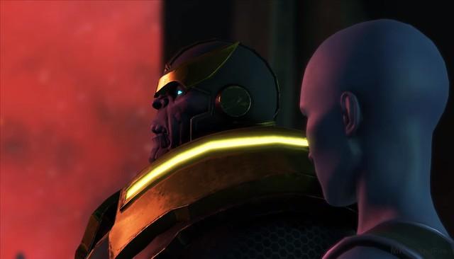 Guardianes de la Galaxia - Thanos
