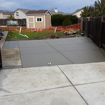 Side Yard Concrete Extension In Vacaville