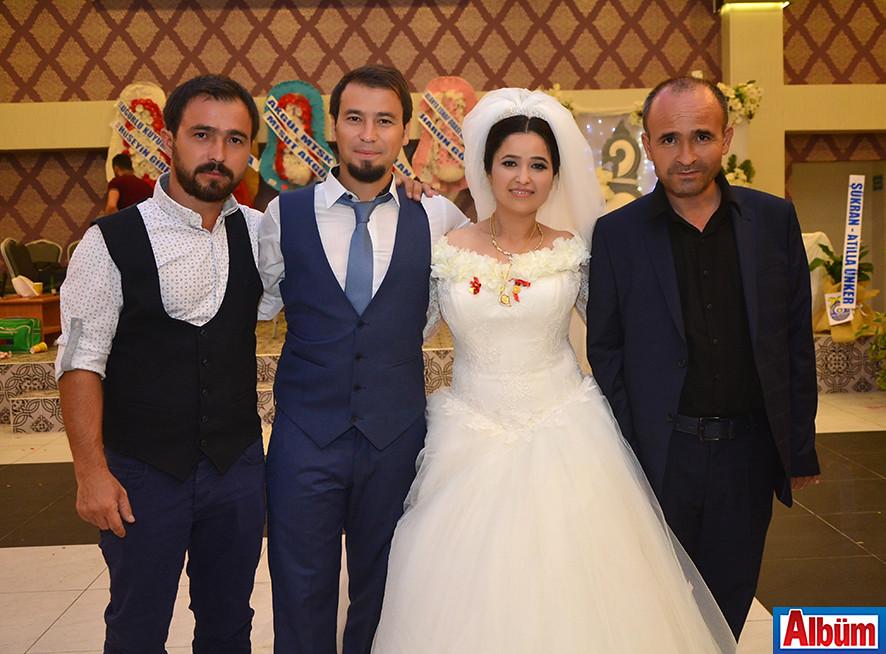 Murat Uslu ve Havva Çalış'ın düğün töreni
