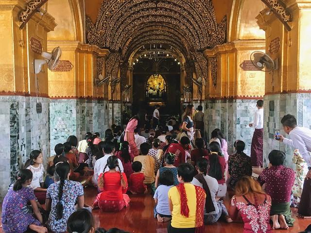 Mahamuni Pagoda - Mandalay