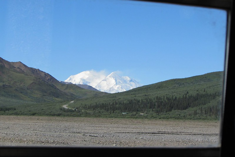 We've still got some distance to go before we get to our closest from Denali