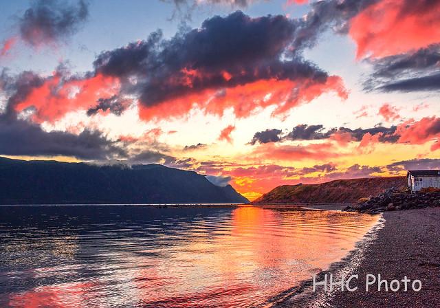 Splendid Sunset, Norris Point, Nikon D810, AF-S Zoom-Nikkor 24-70mm f/2.8G ED