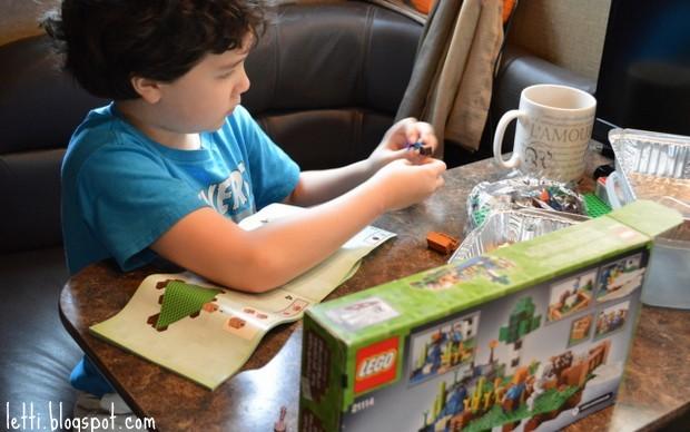 August 26 Lego Minecraft2