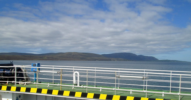 Hoy from Ferry across Scapa Flow)