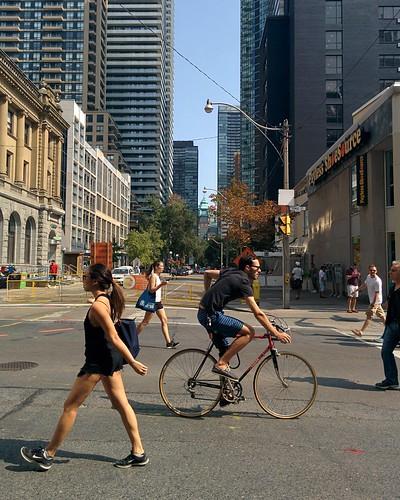 Open Streets (6) #toronto #yongeandbloor #yongestreet #openstreetsto
