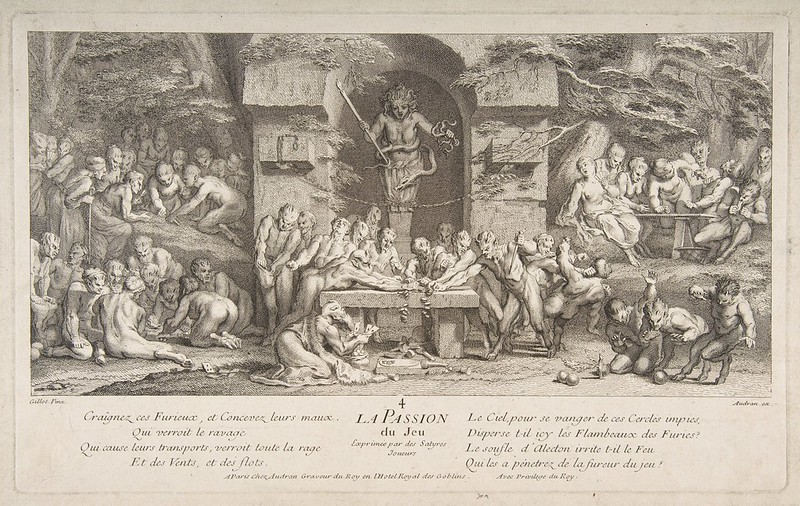 Claude Gillot - Passion for Gambling