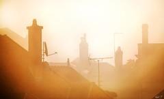 sur les toits de la ville. - Photo of Saint-Loup