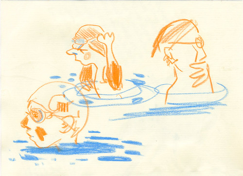Sketchbook #105: Swimming