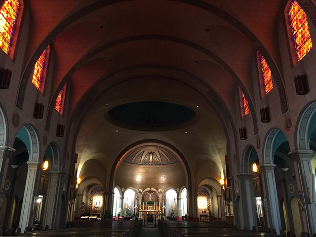Mission Dolores Basilica inside