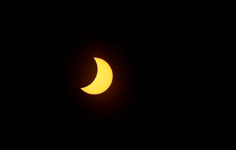 Eclipse en Monterrey