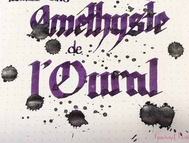 Ink Shot Review Jacques Herbin 1798 Améthyste de l'Oural 18