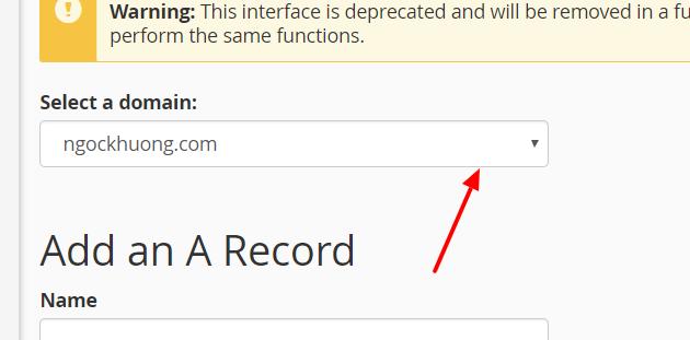 Hướng dẫn cách trỏ tên miền về Stablehost theo IP
