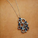 The Art of Quilling Paper Jewelry - Blue Bubbles Pendant by all things paper