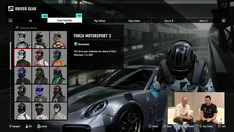 driver gear character customization feature page 4 forza