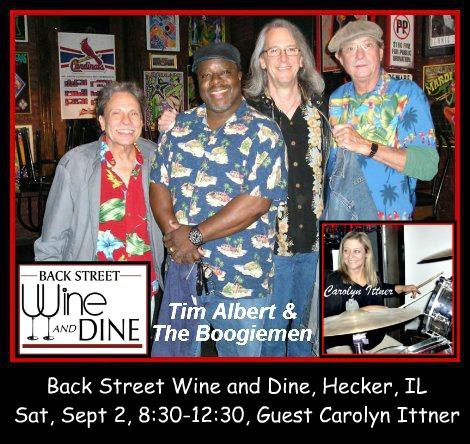 Tim Albert & The Boogiemen 9-2-17