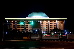 The National Assembly Building in Seoul