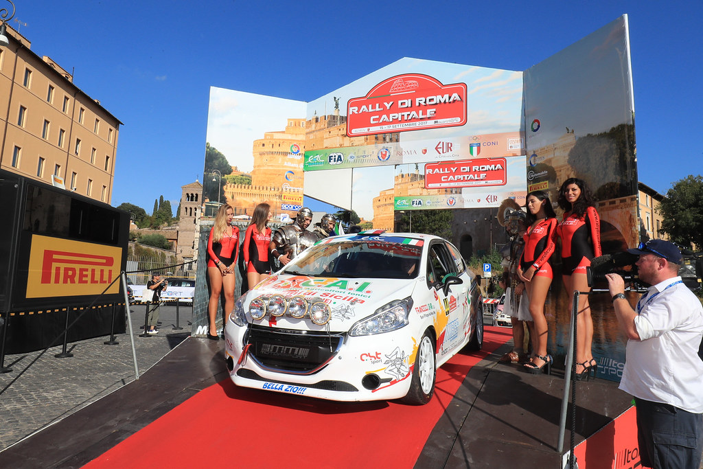 44 start during the 2017 European Rally Championship ERC Rally di Roma Capitale,  from september 15 to 17 , at Fiuggi, Italia - Photo Jorge Cunha / DPPI