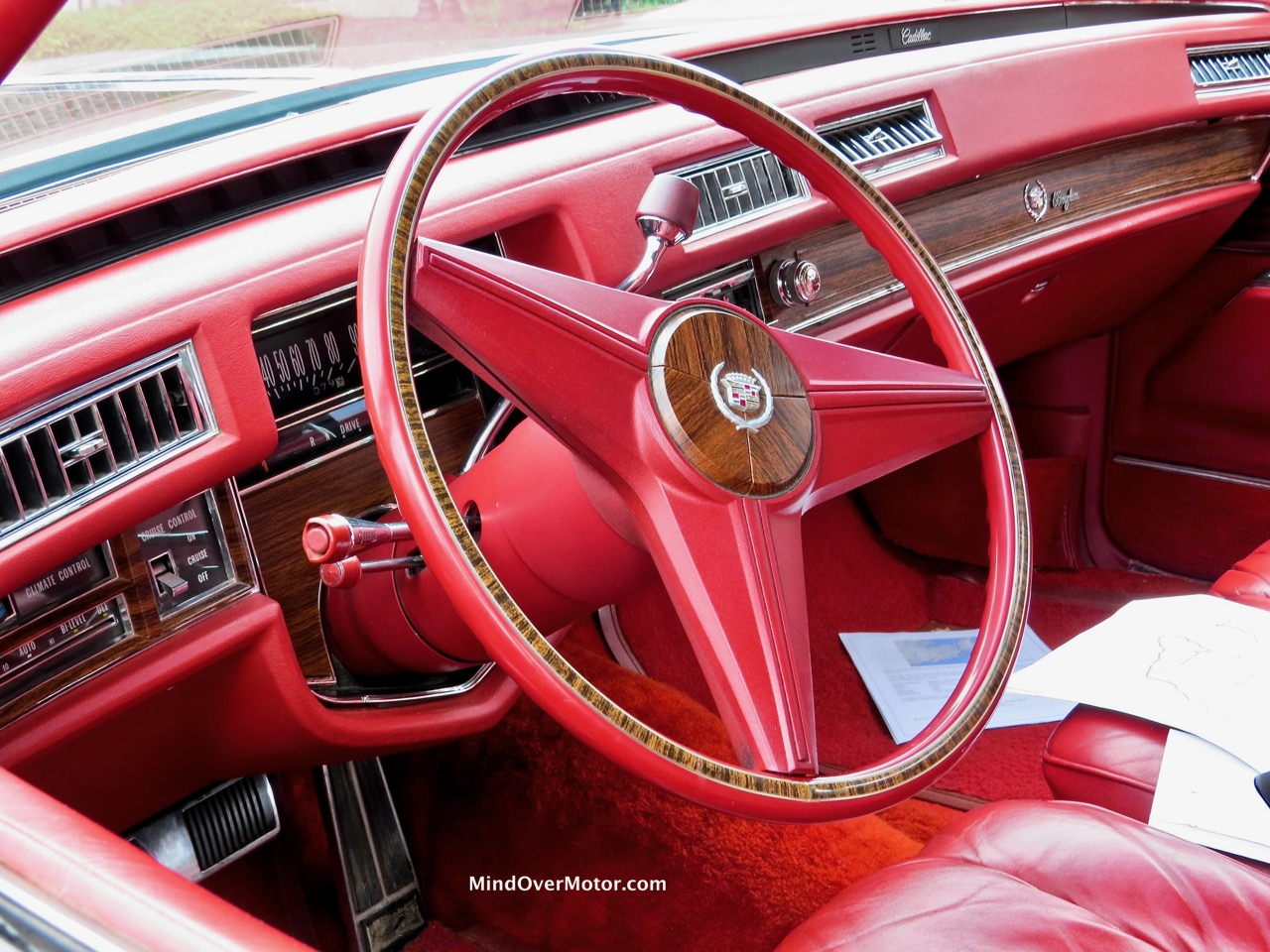 1976 Cadillac Fleetwood Interior 1