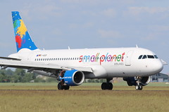 Small Planet Airlines Germany Airbus A320