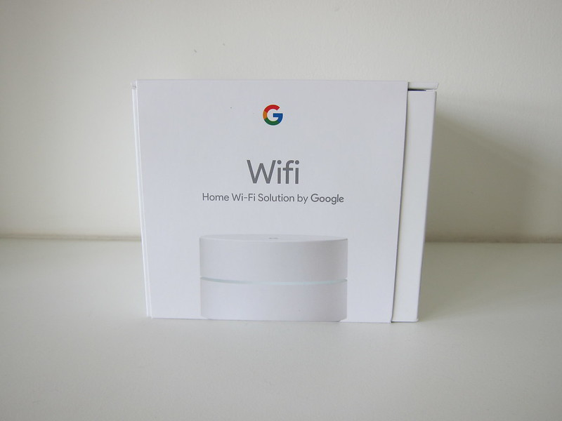 Google Wifi - Box Front