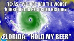 Irma's on her ugly way to git us in florida!