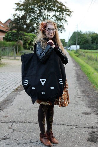 Giant totebag is enormous