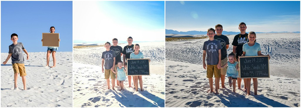 made it to white sands