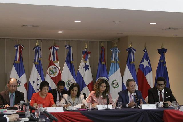 Reunión de grupo de trabajo SICA-Chile