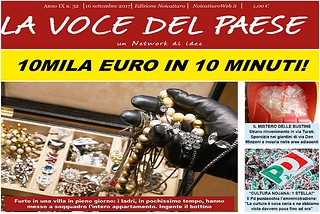 Noicattaro. Prima pagina n. 32-2017 front