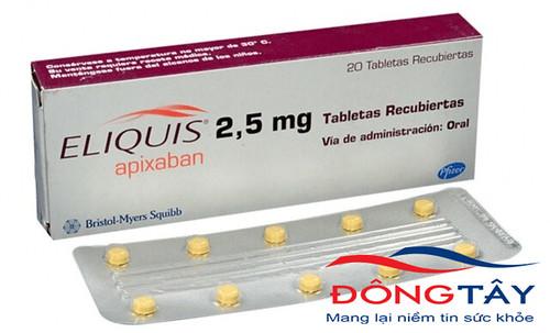 Apixaban - Thuốc chống đông làm giảm nguy cơ đột quỵ cho người rung nhĩ