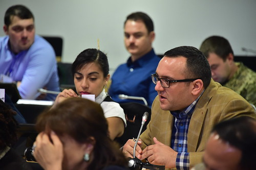 PASS 17-15 Participants Learn about Russia's policy and implications for Europe