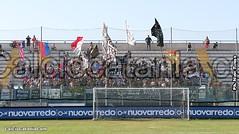 Tifosi Rossazzurri al Franco Fanuzzi di Brindisi