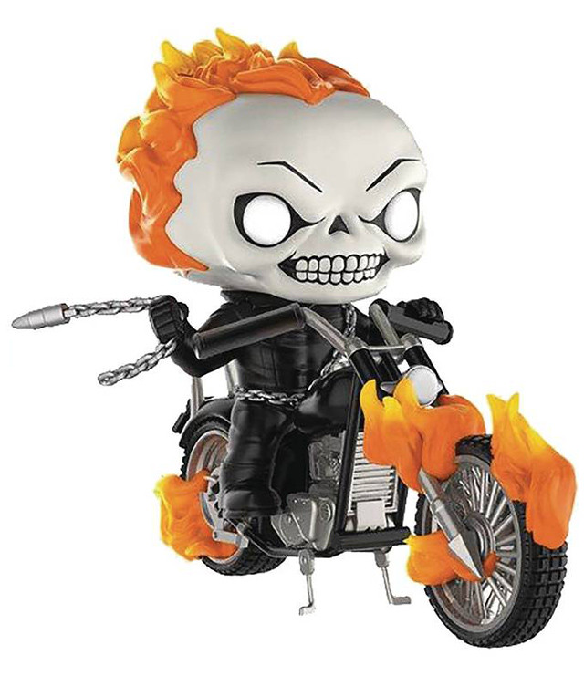 FUNKO RIDES 系列【惡靈戰警 & 機車】Funko POP! Rides Ghost Rider with Bike