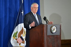Secretary Tillerson Holds a Press Conference in New York City